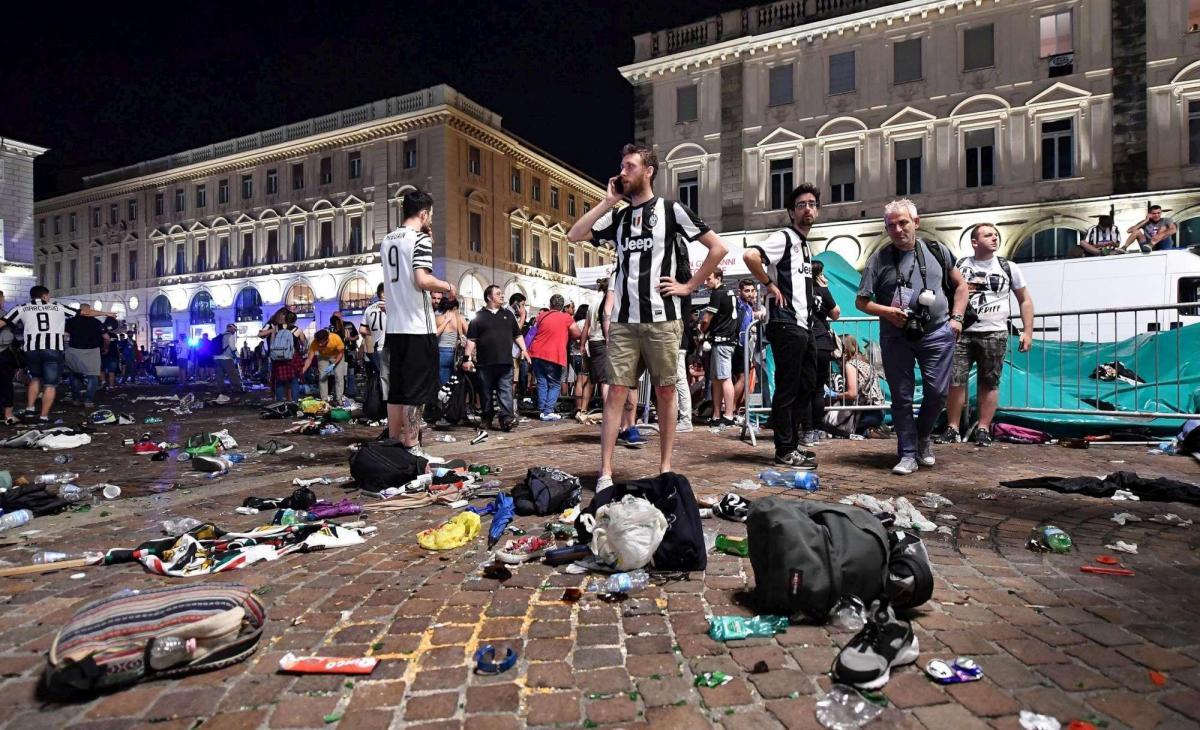 Perde di brutto la Juventus con il Real Madrid e perde ancora più malamente l'organizzazione dell'evento in Piazza SanCarlo.