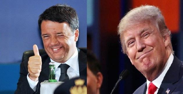 Renzi, il fallito della politica italiana, ma con tante somiglianze con DonaldTrump