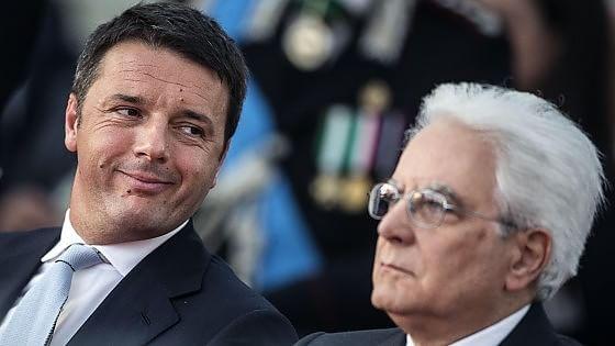 Renzi, un uomo fedele, congruente, costante alla sua totaleinfedeltà