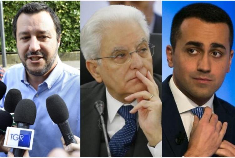 Mattarella cade nella trappola di Salvini e adesso l'Italia è lo zimbello del mondointiero