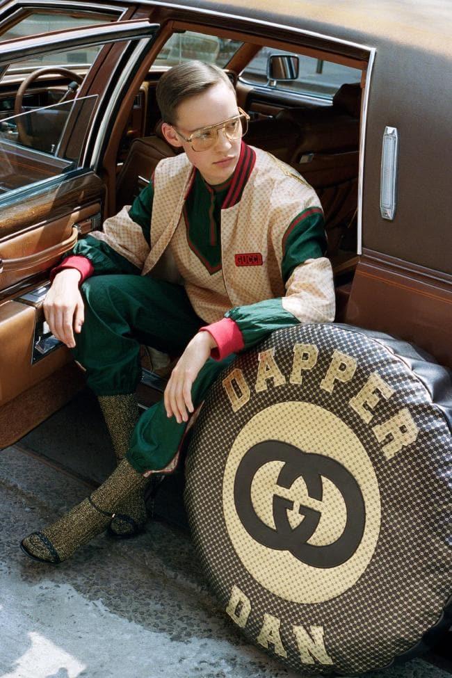 La collezione Gucci-Dapper Dan è ora disponibile in tutto ilmondo